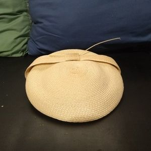Vintage women's 50s straw hat